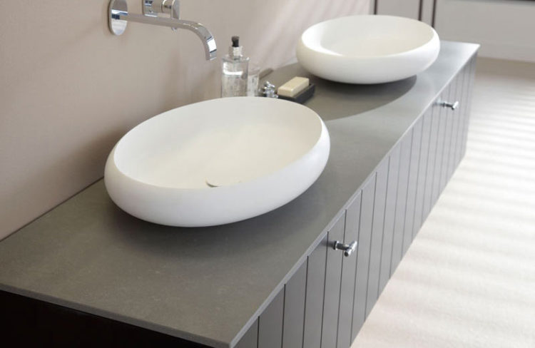 Get The Look Concrete Countertops Santamargherita